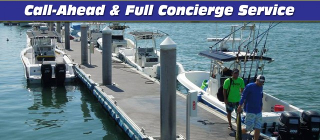 Bluepoints Marina: Call Ahead Concierge Service