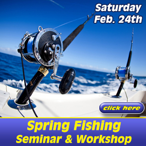 Spring Fishing Seminar at Bluepoints Marina in Port Canaveral