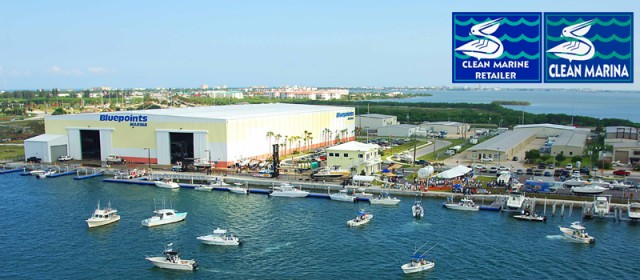 "Bluepoints Marina Named ""Clean Marina"" by Florida Dept. of Environmental Protection"