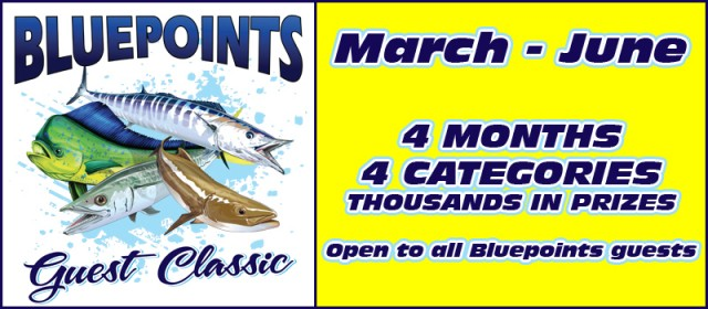 Annual Guest Classic Fishing Tournament at Bluepoints Marina