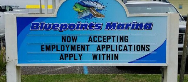 Bluepoints Marina – Now Hiring