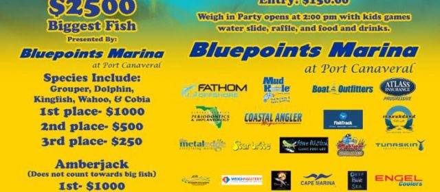 CFOA Fishing Tournament June 22-23 at Bluepoints Marina